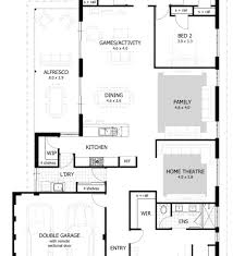 Modern Floor Plans Australia Australian Houses 4 Bedroom Modern Home House Plans Australia 4