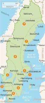 map of sweden map of sweden sweden regions guides guides