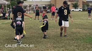 Packer Flags Saints Vs Packers 2017 Flag Football Youtube