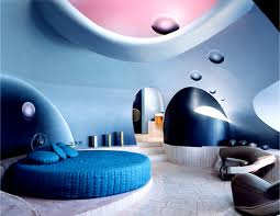 cool off your home with caribbean blue decor color palette and funny blue colour bedroom idea with round bed wall and excerpt modern white home decor