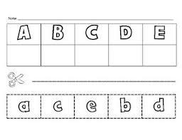 preschool literacy worksheets 9 best cut and paste worksheets images on preschool