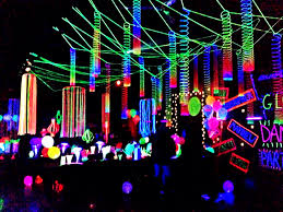 glow party decorations pinteres
