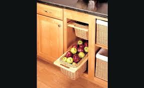 panier de cuisine panier coulissant pour meuble de cuisine panier coulissant en osier