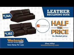 Simon Li Leather Sofa Just Arrived Simon Li Leather Reclining Set Youtube
