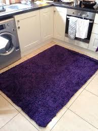 120 x 170 deep purple rug kitchen living room bedroom decor soft