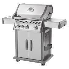 napoleon prestige p500rsib grill with rear side infrared burner