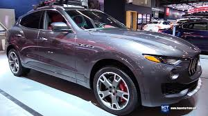 maserati suv interior 2017 2017 maserati levante s exterior and interior walkaround 2017