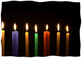 hanukkah candles colors chanukah candles chabad org