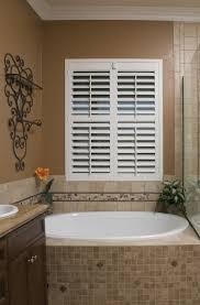waterresistant and beautiful bathroom plantationshutters