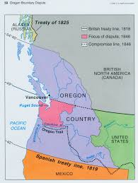 Joseph Oregon Map by Geography Manifest Destiny