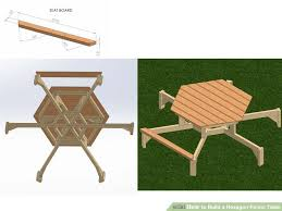 Octagonal Picnic Table Project by Attractiveness Hexagonal Picnic Table 63 Amazing Picnic Tables