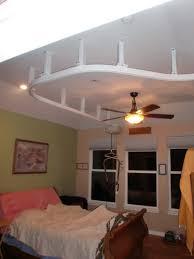 suspended ceiling lift goes from bedroom bathroom in lakewood
