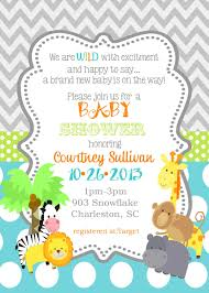 jungle baby shower invite jungle animals baby shower invitations safari animals reserved