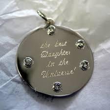 jewelry engraving 14kyg disc with diamonds machine engraved jpg