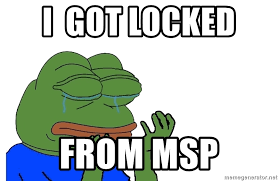 Crying Meme Generator - i got locked from msp pepe the frog crying meme generator