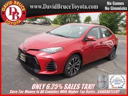toyota new 2017 2017 toyota corolla for sale in bourbonnais il
