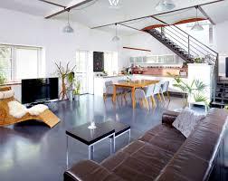 Wohnzimmer Design 2015 Wohnzimmer Und Essbereich Bzw Küche Gehen Fließend Ineinander