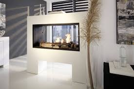decor u0026 tips two sided fireplace indoor outdoor for double sided