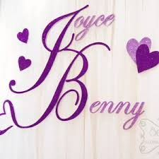 wedding backdrop name a crystallized royal purple and silver wedding reception