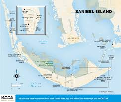 Sanibel Island Map Plan A 14 Day Florida Road Trip Moon Travel Guides