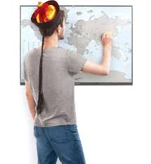 Countries Visited Map This Scratch Off World Map Lets You Track All Of The Countries You