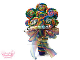 lollipop bouquet rainbow lollipop wedding bouquet rainbow bouquet lollipop