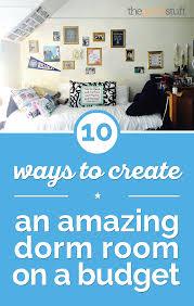 Blue Dorm Room 10 Ways To Create An Amazing Dorm Room On A Budget Thegoodstuff