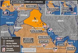 map middle east uk news