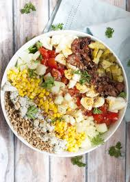 Light Summer Dinners Easy Southern Summer Cobb Salad Whitbits Kitchen