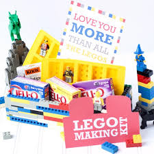 Making Gift Baskets Lego Themed Gift Basket Messes To Memories