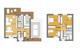 O2 Floor Plan by Two Storey Family House O2 130 Djs Architecture