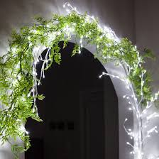 lighted branches white climbing vine led lighted branches cool white lights 1 pc