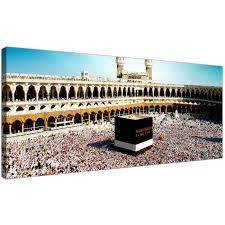 islamic wall art uk shenra com cheap islamic canvas wall art prints of muslim pilgrimage to mecca