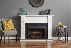 gallery zero clearance electric fireplace insert in 36