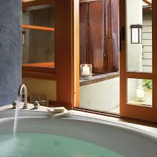 spa bathroom ideas sunset
