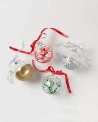 splatter paint ornaments ornaments martha stewart and ornament