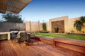 Australian Backyard Ideas Awning Bbq Decking Feature Garden Wall Garden Wall Grass Grill