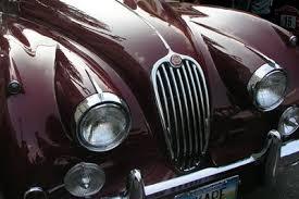 jaguar xk 120 oxblood red one of my favorite dream cars cool