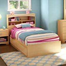 bookcase bed frame with shelf headboard expedit bed frame twin