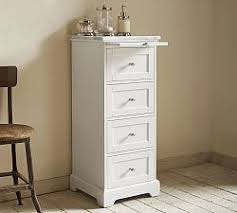 Small Bathroom Storage Furniture Glamorous Bathroom Storage Pottery Barn Of Cabinets And Home