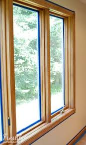 Painting Wood Windows White Inspiration Wood Window White Trim For The Home Pinterest White Trim