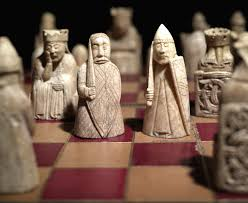 the lewis chessmen are some of the most well travelled objects in
