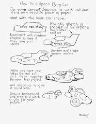 how to draw worksheets for the young artist how to draw a space