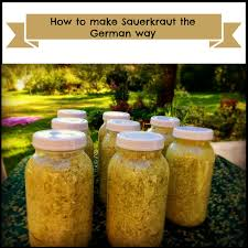 marblemount homestead home made sauerkraut and how i make it the