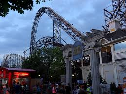 The Goliath Six Flags A Six Flags Great American Sunset Coaster101