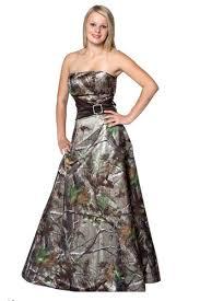 camo wedding dresses line floor length strapless satin camo wedding dresses c0015