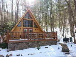 A Frame House by A Frame Log Cabin In The Woods Wifi Homeaway Sylva