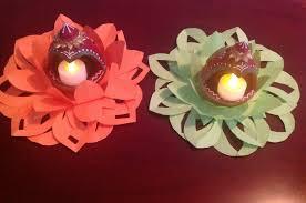 diy decorative tea light holder diwali craft u2013 mom u0027s recipe diary