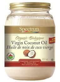 huile de noix de coco cuisine huile de noix de coco biologique spectrum walmart canada