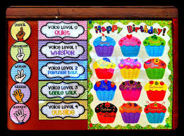 classroom reveal a lot of pictures a cupcake for the teacher
